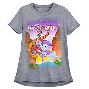 The Rescuers Down Under Fashion T-Shirt for Women 7505057371619M