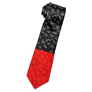 I Am Mickey Mouse Silk Tie for Adults
