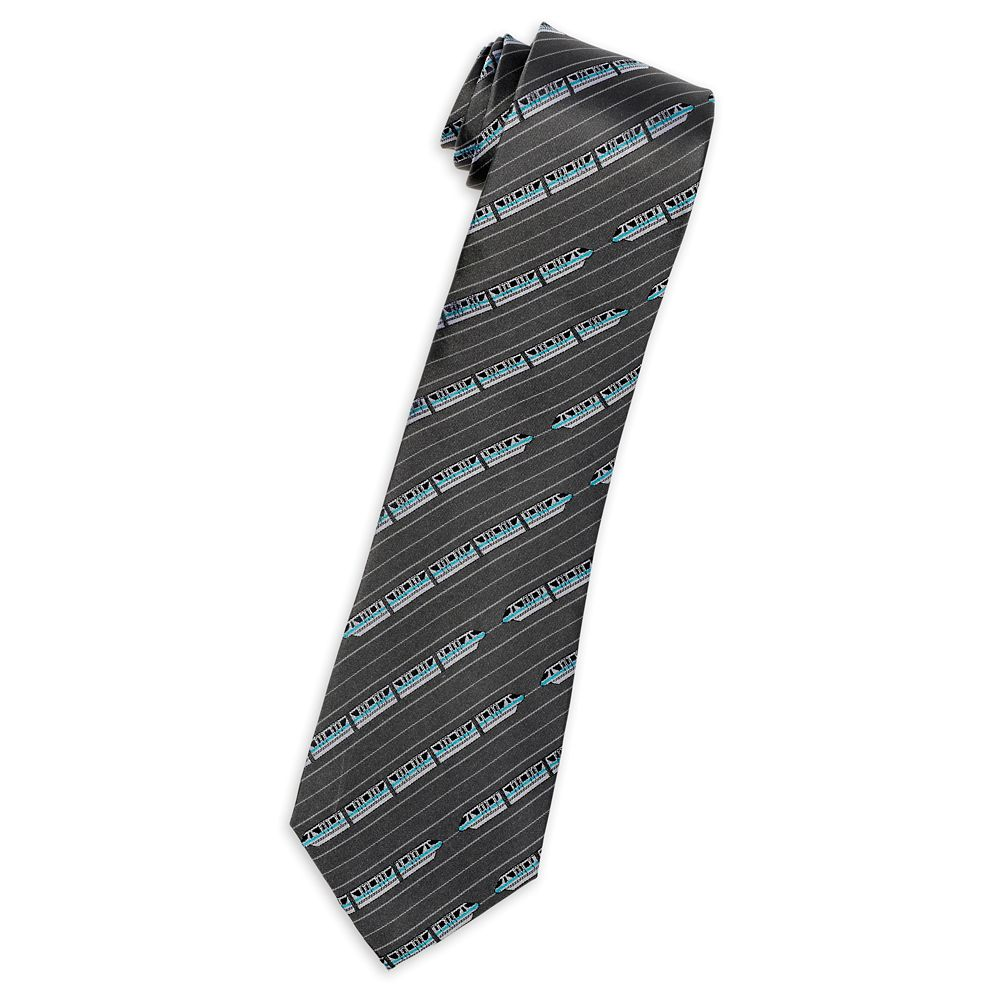 Monorail Silk Tie for Adults