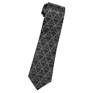 The Haunted Mansion Silk Tie for Adults