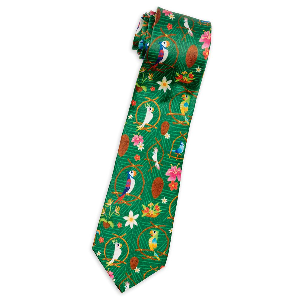 Enchanted Tiki Room Silk Tie for Adults