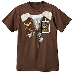 Mickey Mouse Soarin' Around the World Costume T-Shirt for Adults