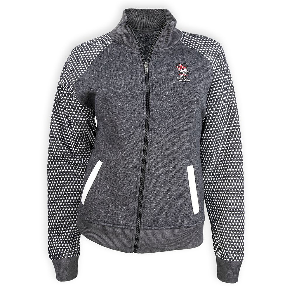 Minnie Mouse Zip Fleece Jacket for Women