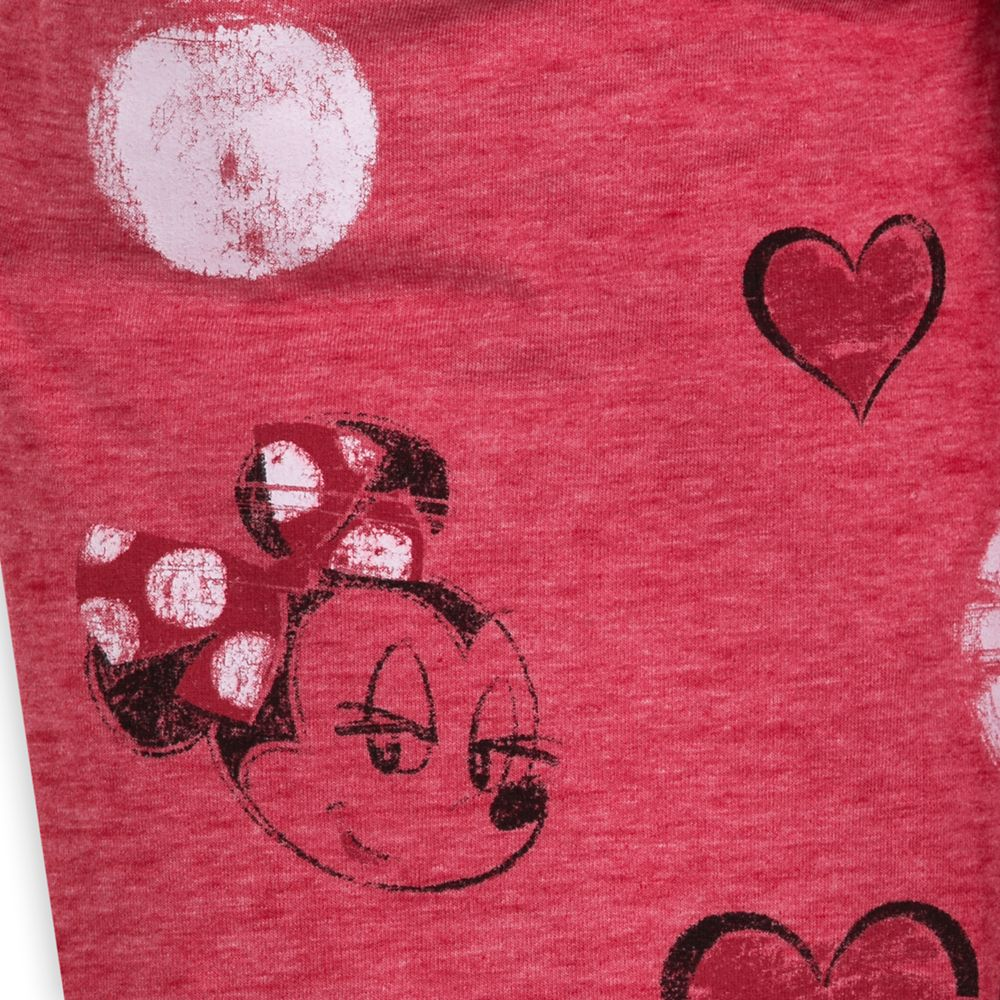 Minnie Mouse Red Dots Long Pants for Women