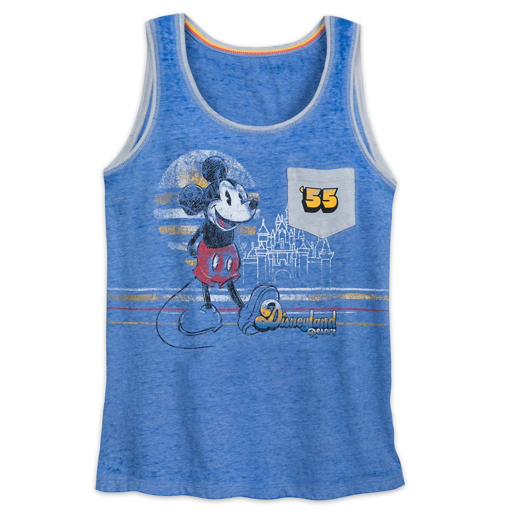 Mickey Mouse and Sleeping Beauty Castle Tank Top for Women  Disneyland
