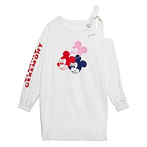 80dc0795c4fd5f Mickey Mouse Sweatpants for Adults by Opening Ceremony – White Price:  $125.00