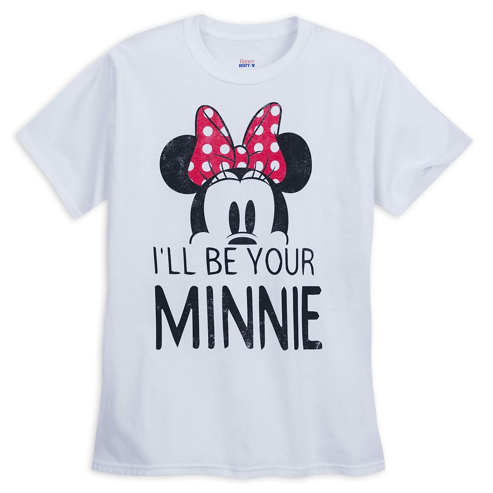 Minnie Mouse ''I'll Be Your Minnie'' Couples T-Shirt for Women