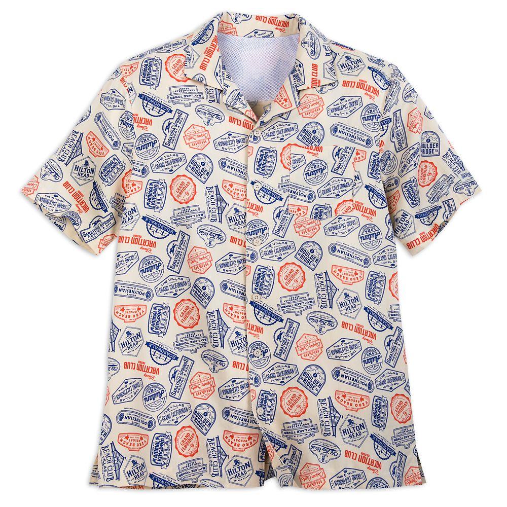 Disney Vacation Club Camp Shirt for Men