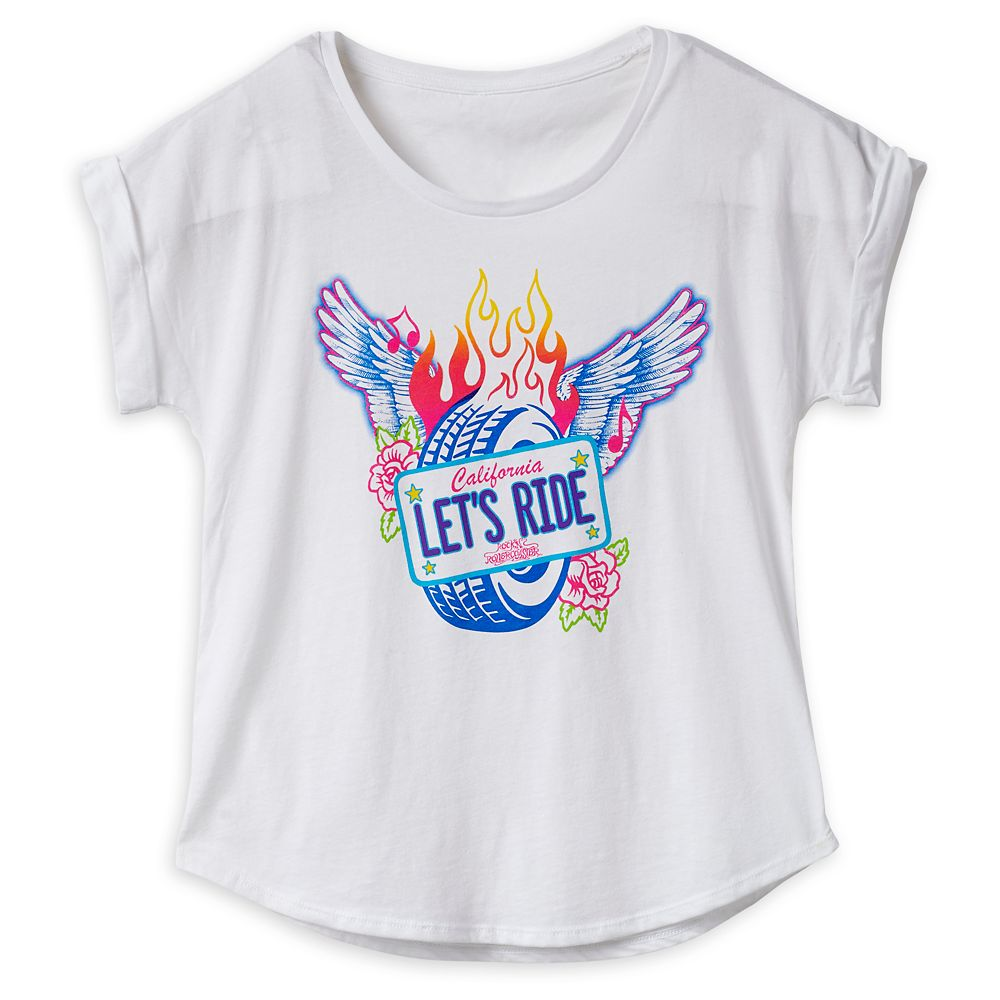 Rock 'n Roller Coaster Fashion T-Shirt for Women – Disney's Hollywood Studios