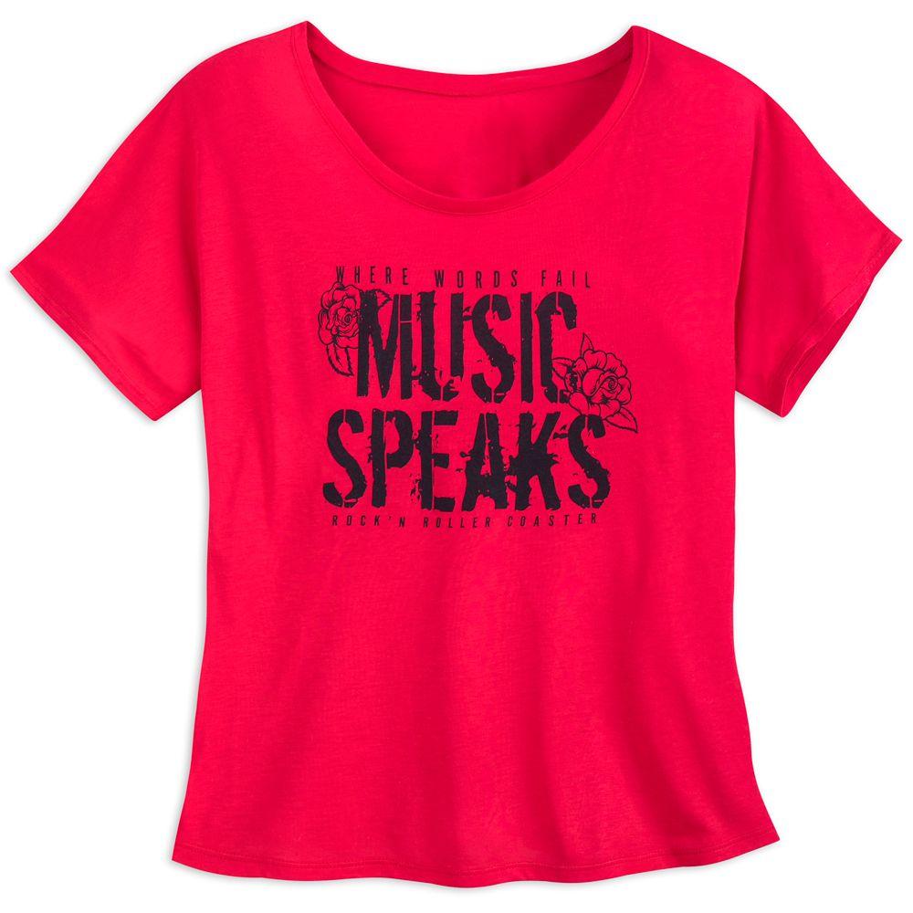 Rock 'n Roller Coaster Dolman T-Shirt for Women