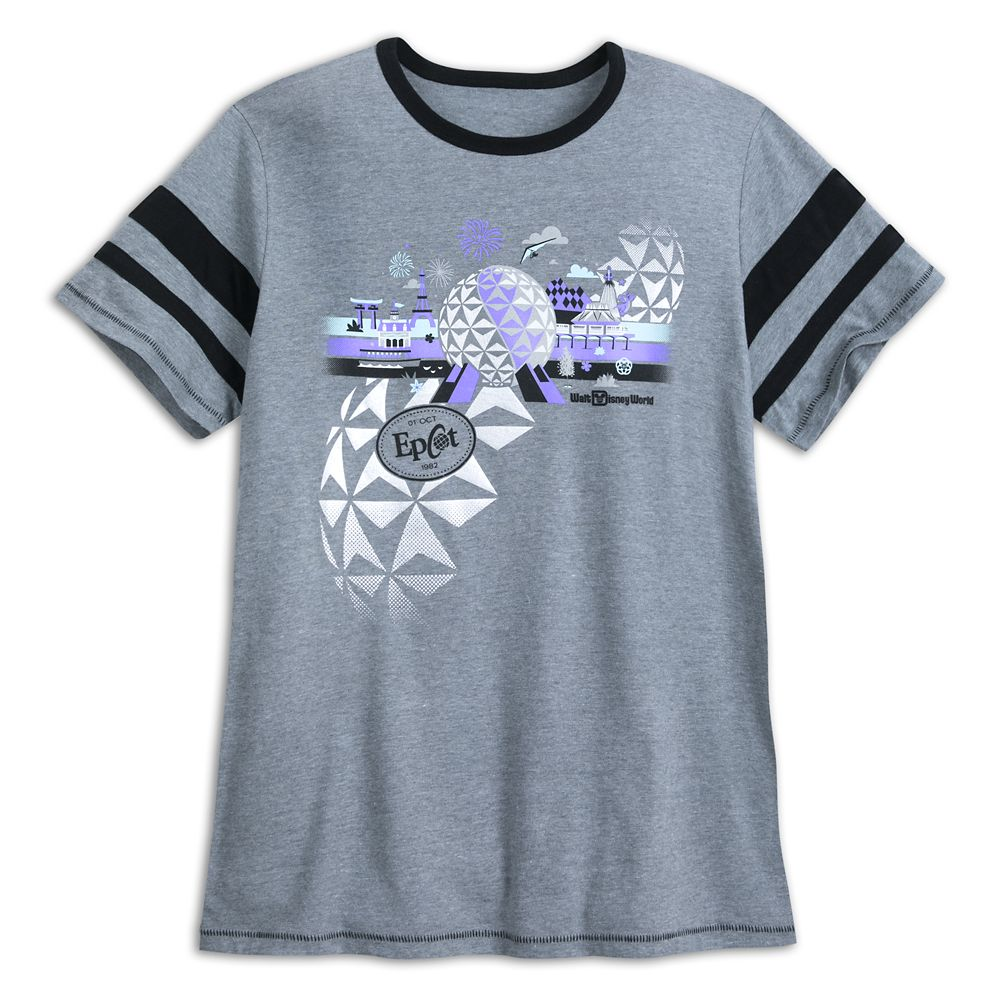 Epcot Athletic Jersey T-Shirt for Adults – Walt Disney World