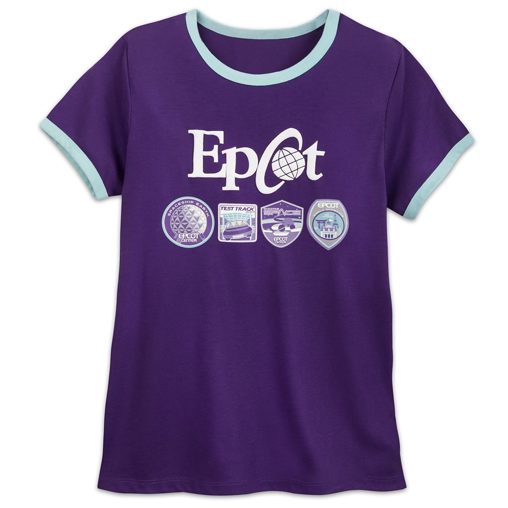 Epcot Ringer T-Shirt for Women