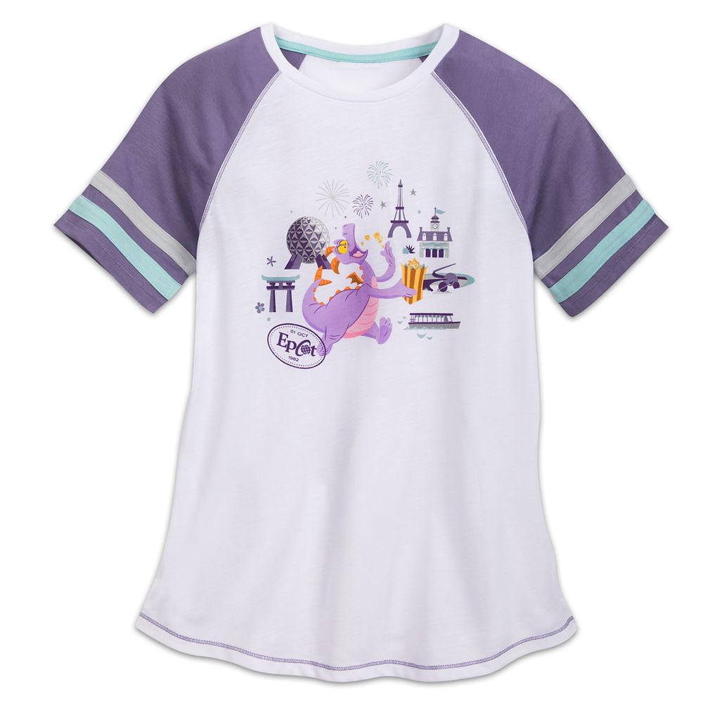Figment Raglan T-Shirt for Women Official shopDisney
