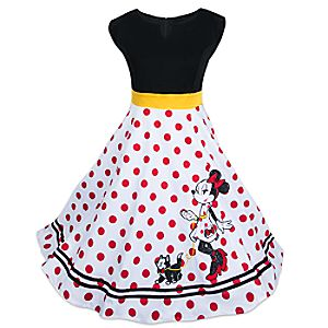 Minnie Mouse and Figaro Dress for Women