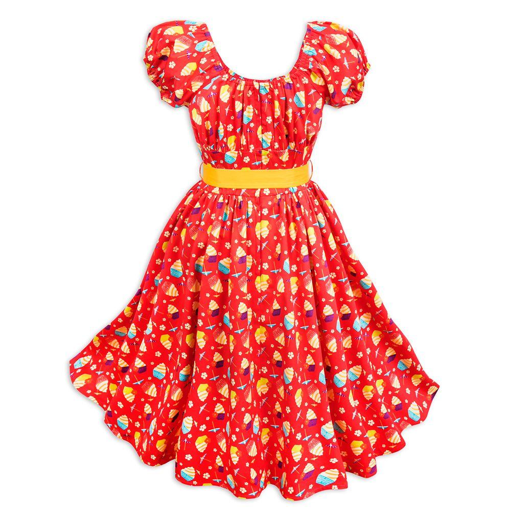 Pineapple Swirl Dress for Women
