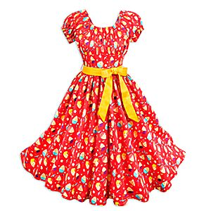 Pineapple Swirl Dress for Women