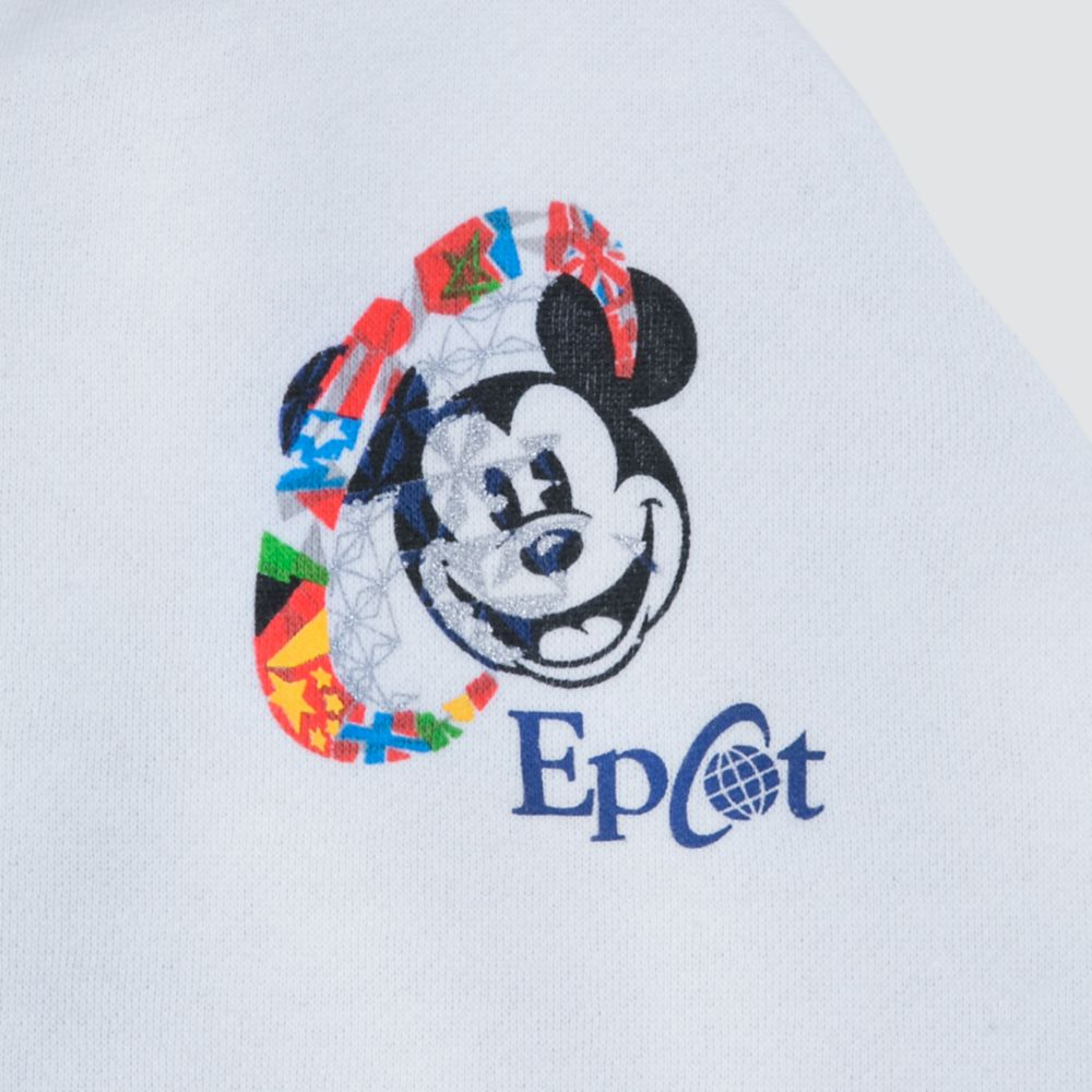 Mickey Mouse Zip Hoodie for Women – Epcot