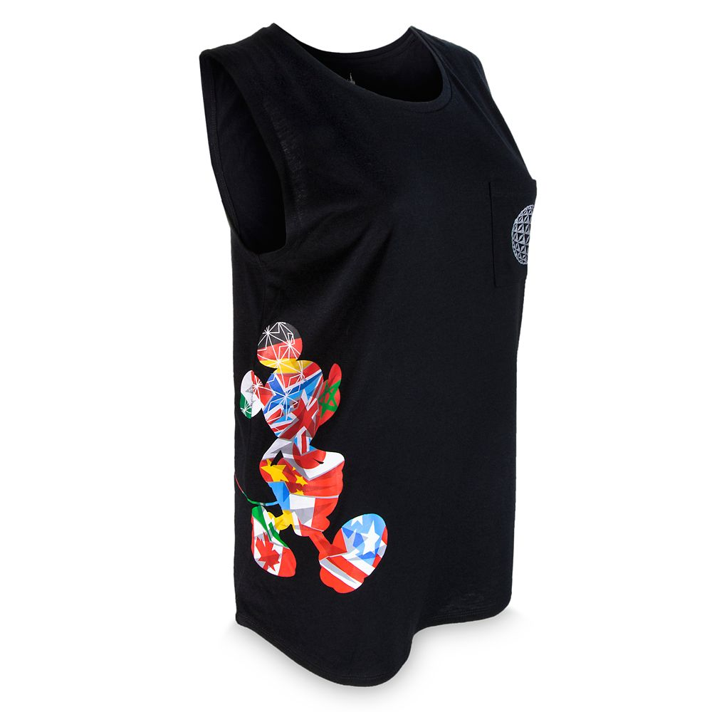 Mickey Mouse Tank T-Shirt for Women – Epcot