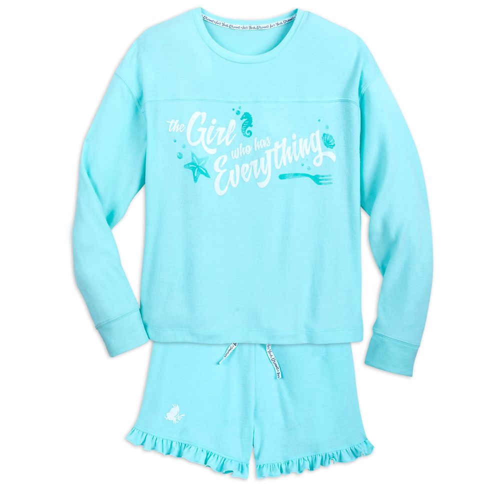 Ariel Pajama Set for Women Official shopDisney