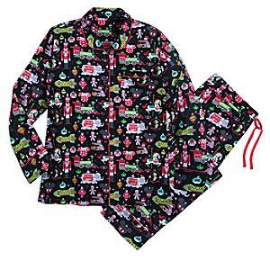 Image of Disney Parks Ornament Pajama Set for Women