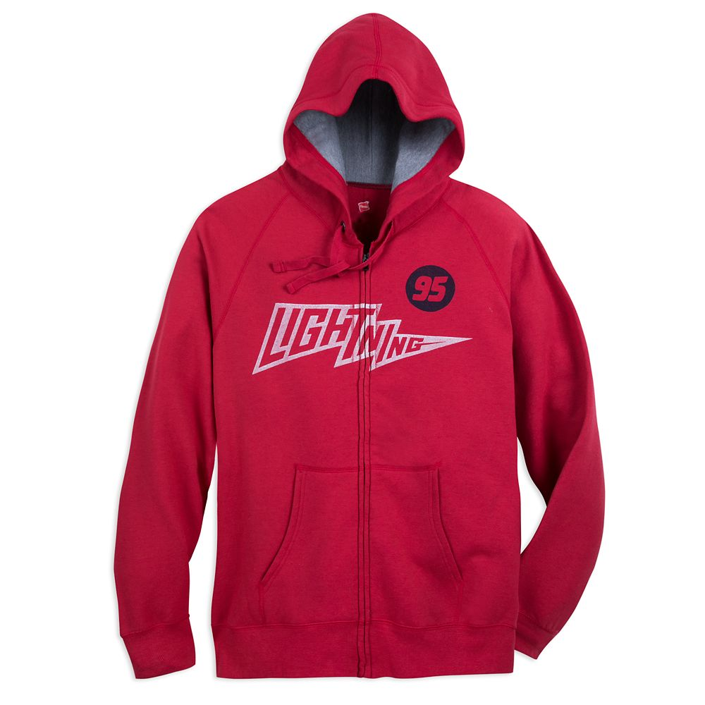 Lightning McQueen Hoodie for Adults  Cars Official shopDisney
