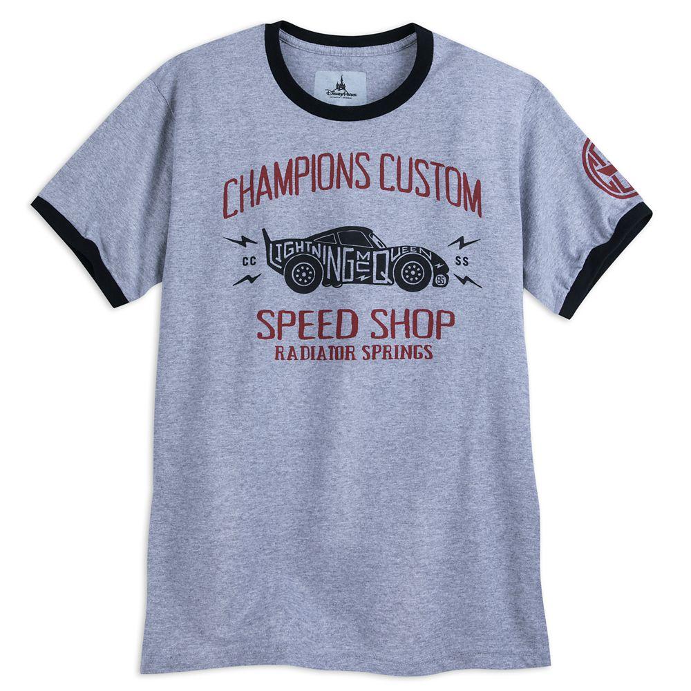 Lightning McQueen Ringer T-Shirt for Adults – Cars