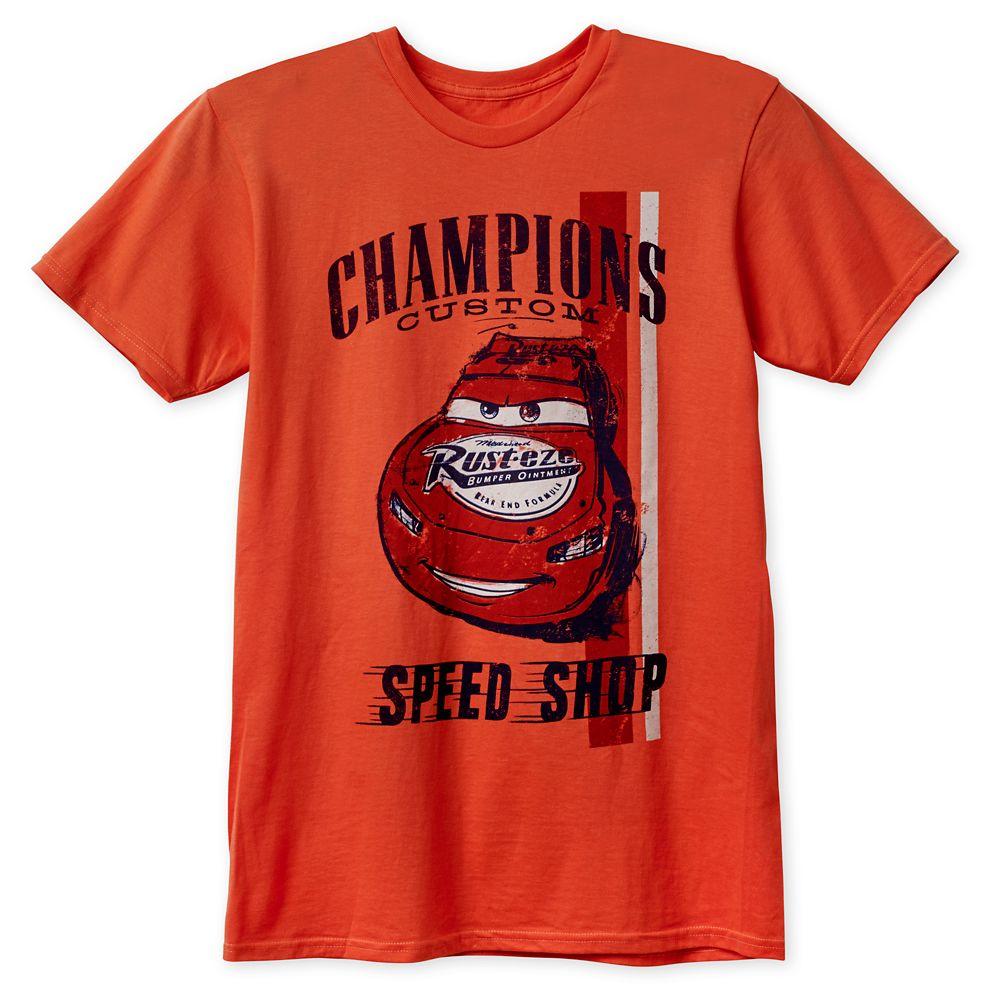 Lightning McQueen T-Shirt for Adults  Cars Official shopDisney