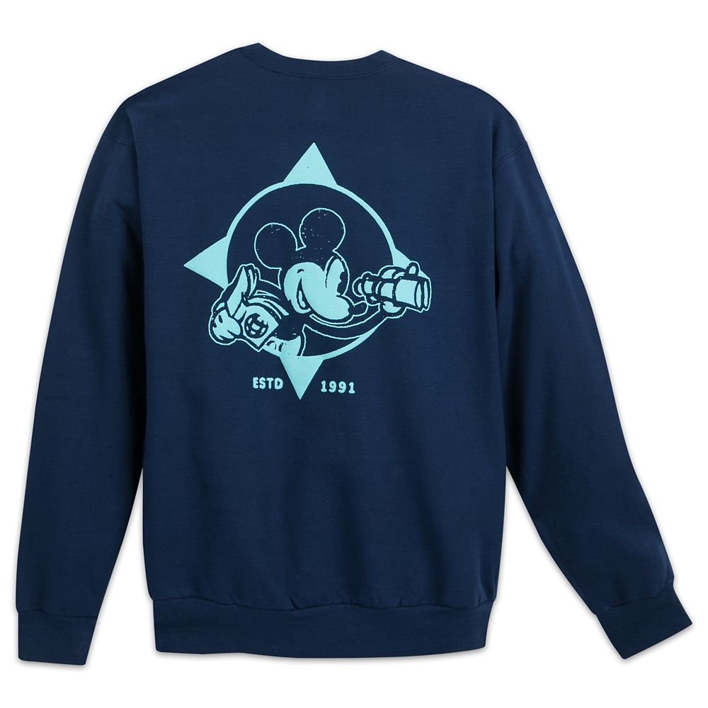 Mickey Mouse Sweatshirt for Adults – Disney Vacation Club
