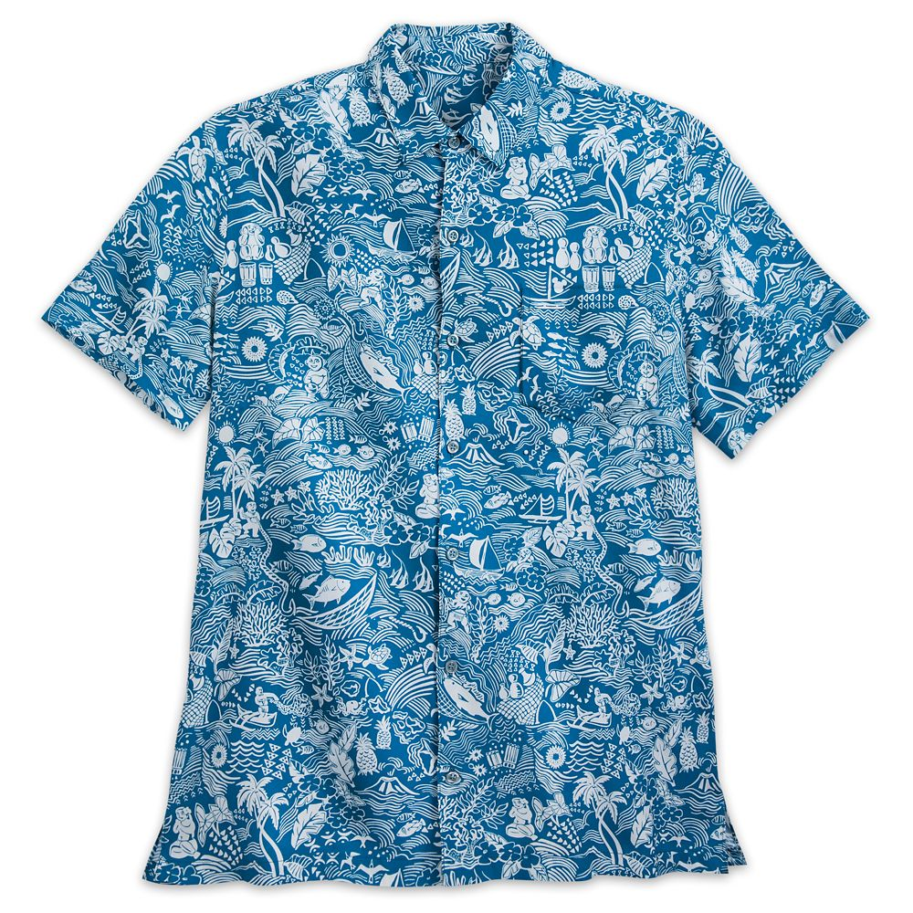 Aulani, A Disney Resort & Spa Aloha Shirt for Men by Tori Richard