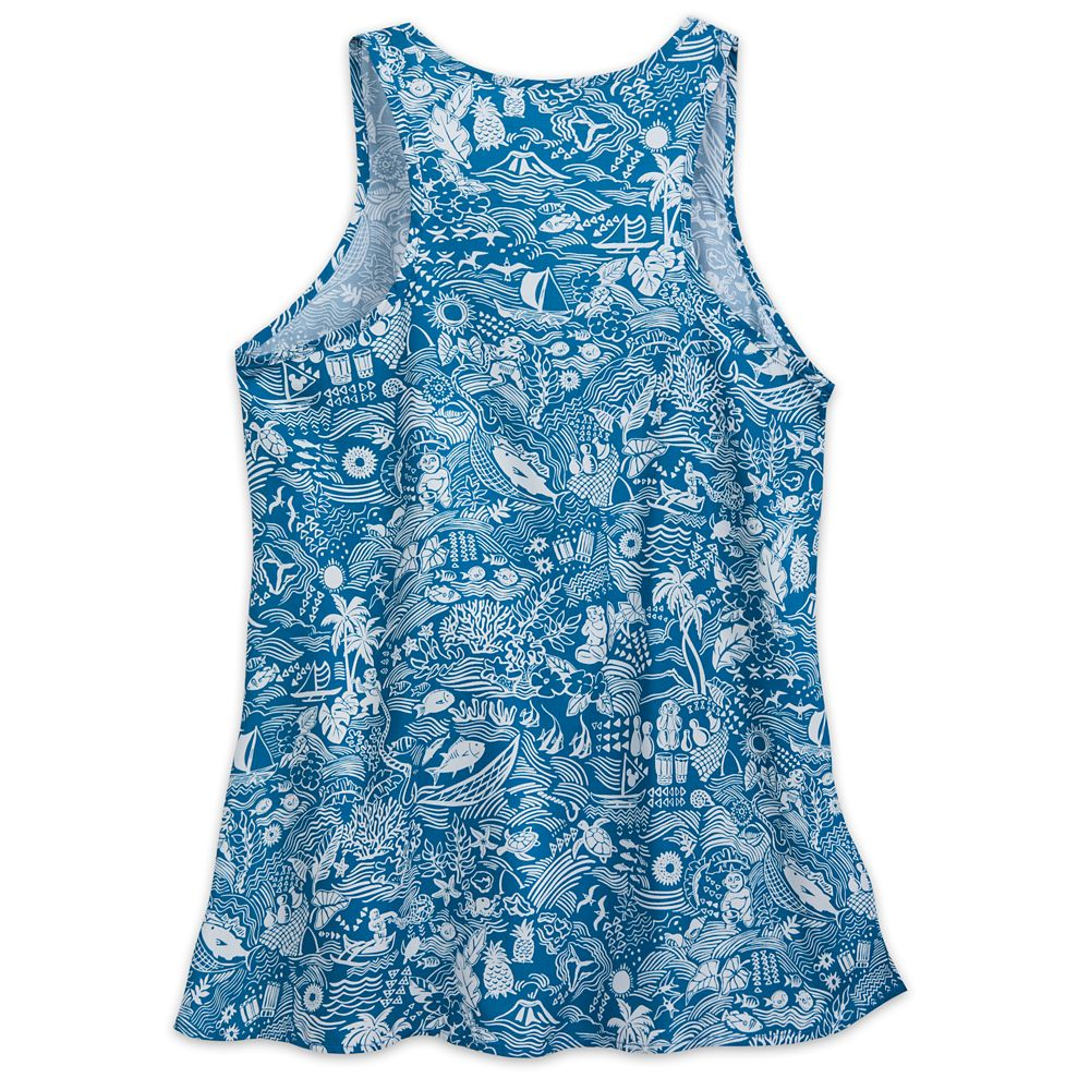 Aulani, A Disney Resort & Spa Aloha Tank Top for Women by Tori Richard