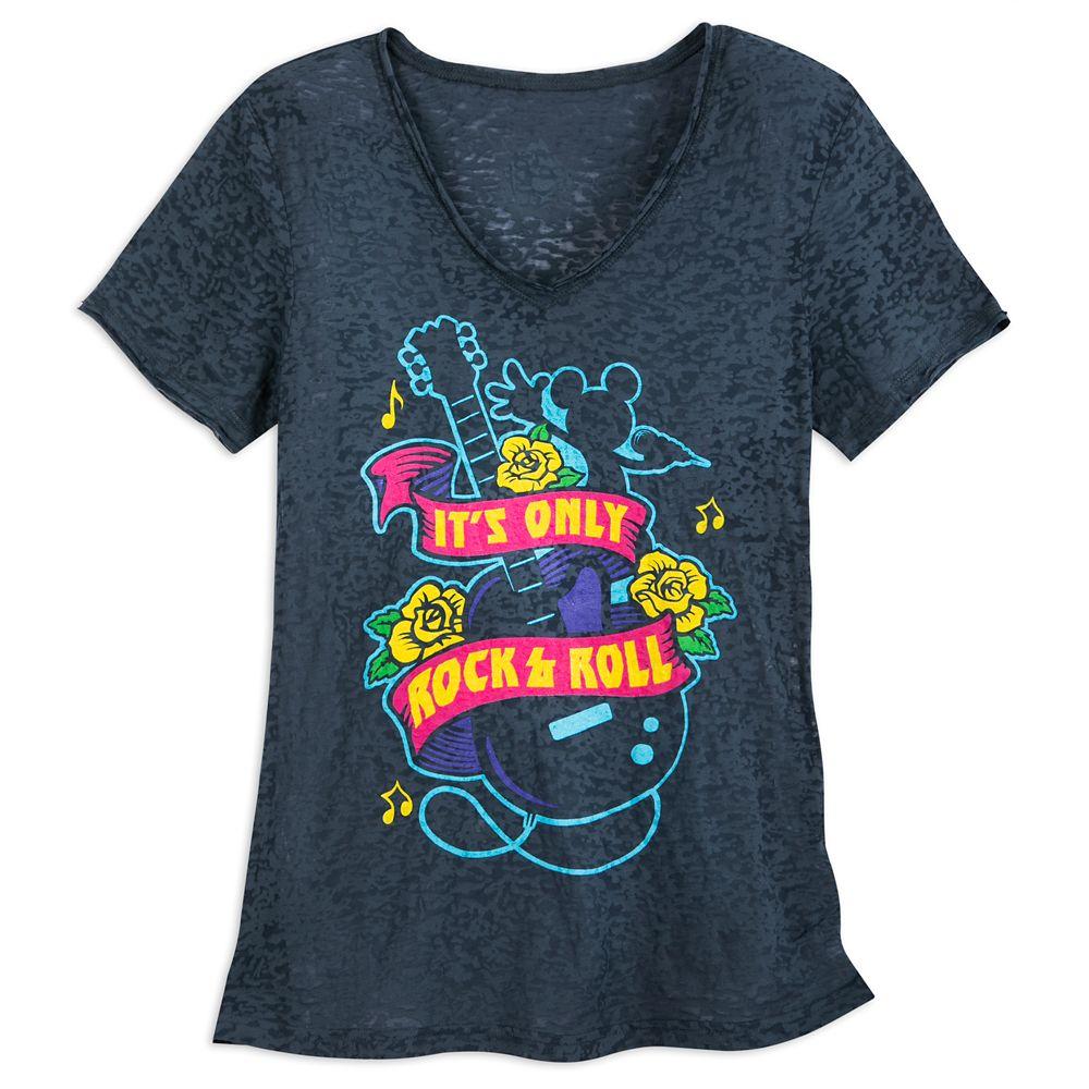 Rock 'N Roller Coaster T-Shirt for Women Official shopDisney