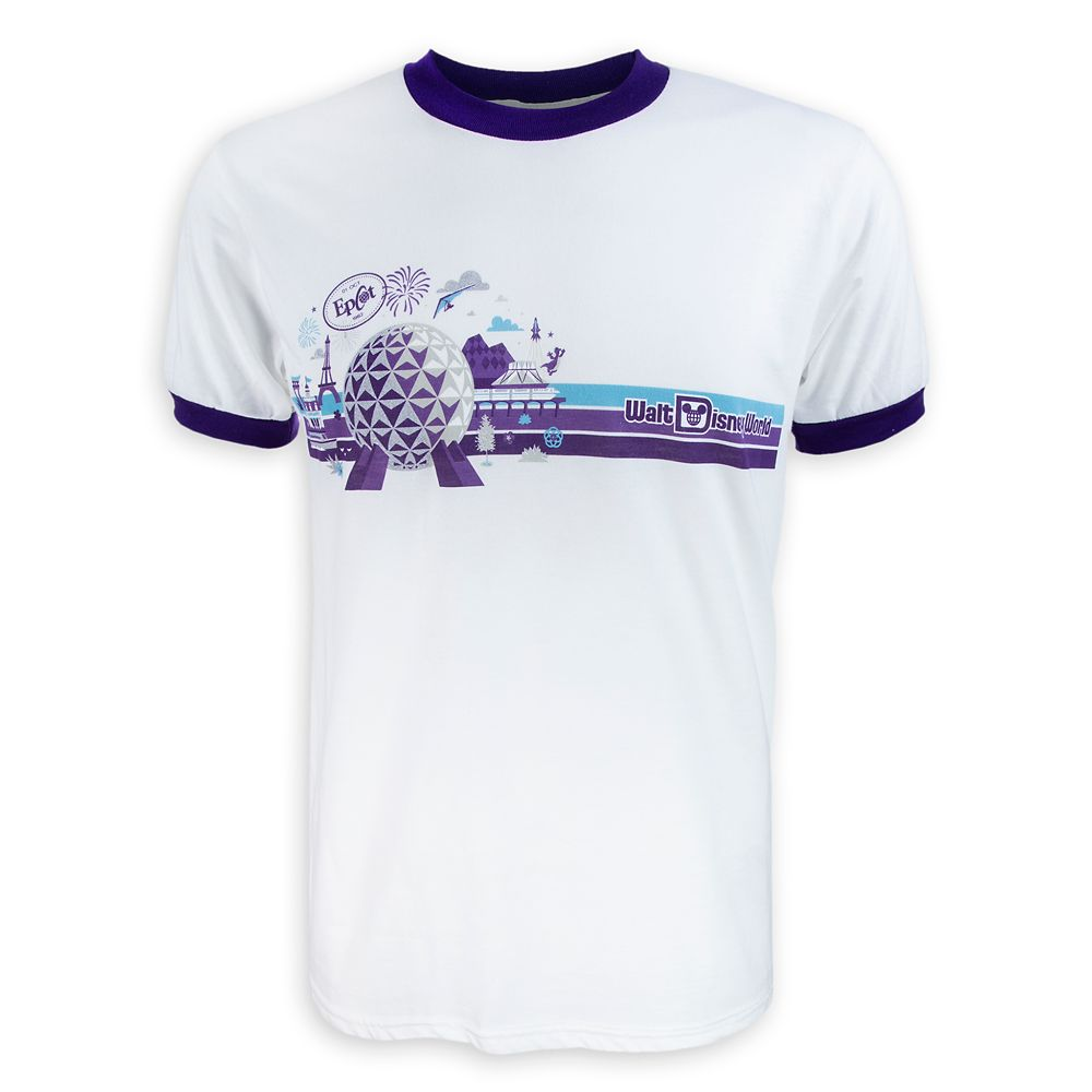 Epcot Ringer T-Shirt for Adults