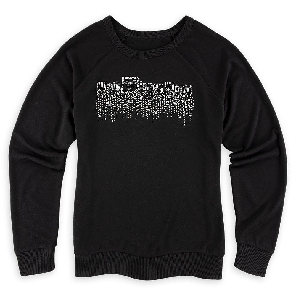 Walt Disney World Rhinestone Long Sleeve T-Shirt for Women