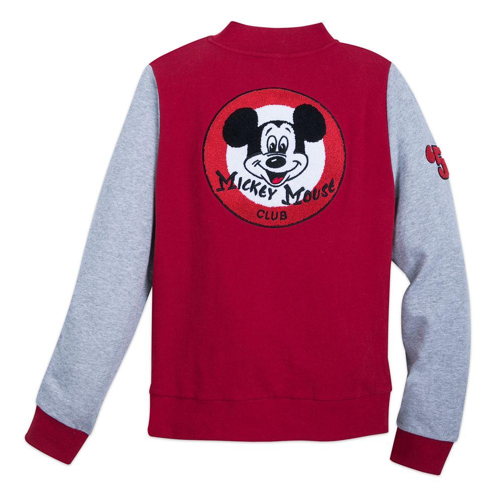 Mickey Mouse Club Varsity Jacket for Women