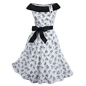 Mickey Mouse Sketch Dress for Women