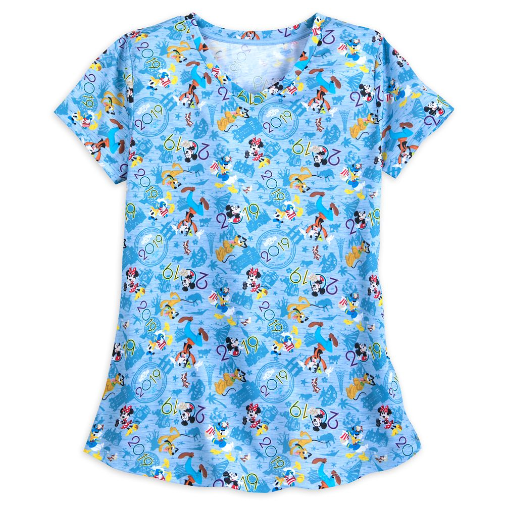 Mickey Mouse and Friends T-Shirt for Women  Walt Disney World 2019