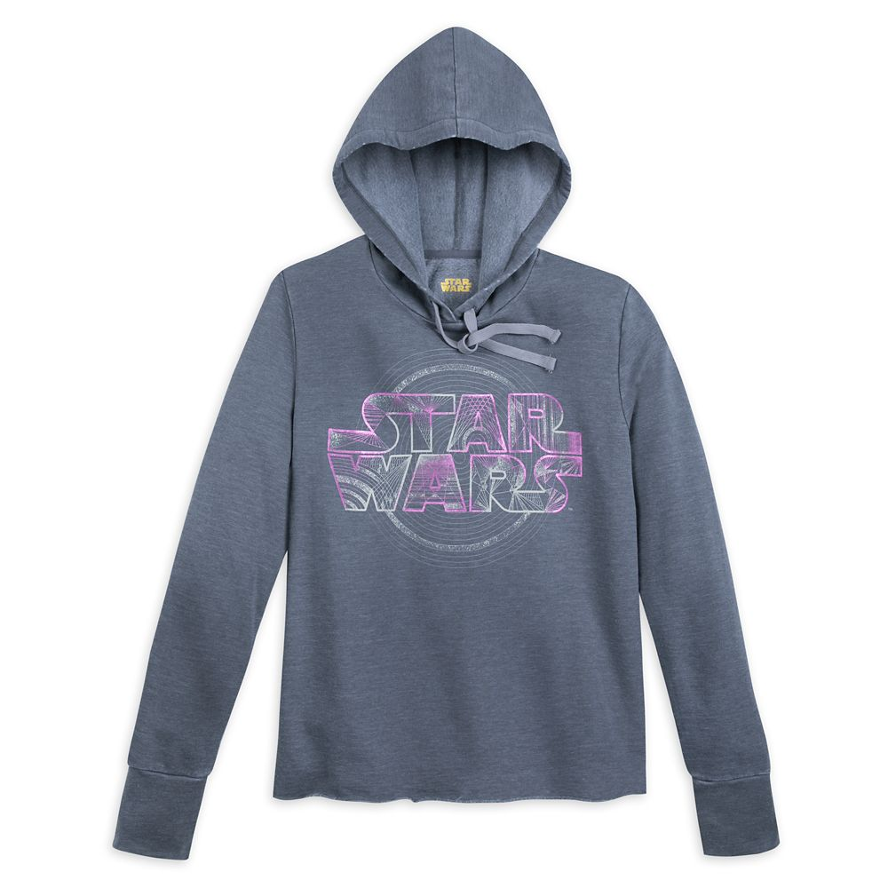 Star Wars Logo Pullover Hoodie for Women Official shopDisney