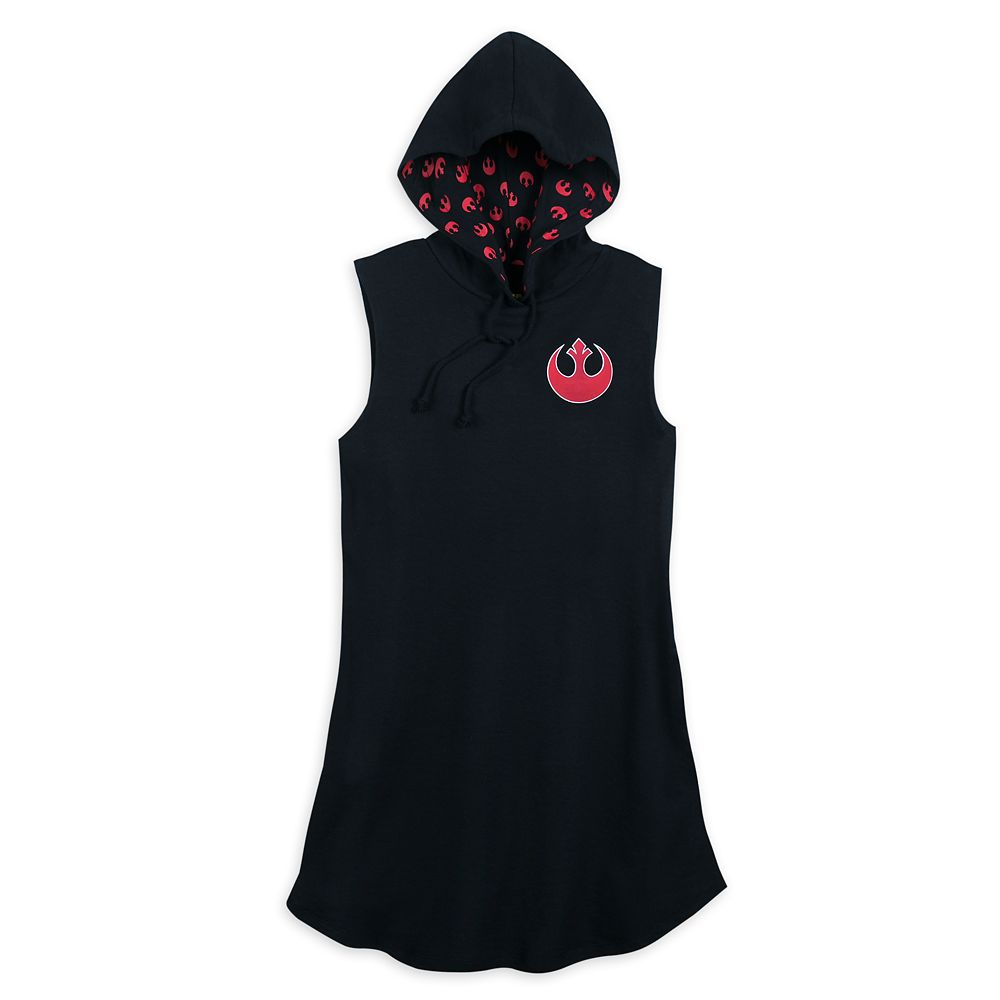 Star Wars Rebel Alliance Hooded Dress for Women Official shopDisney