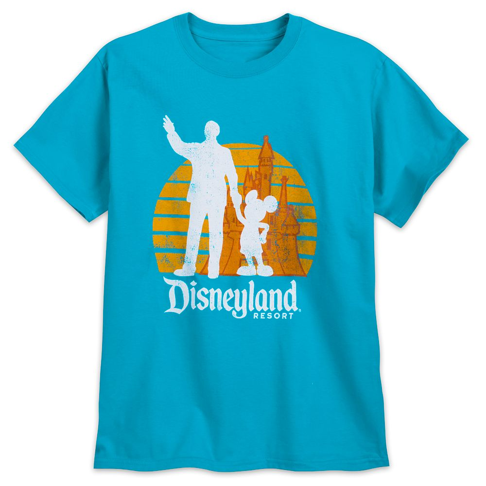 Walt Disney and Mickey Mouse ''Partners'' T-Shirt for Adults – Disneyland