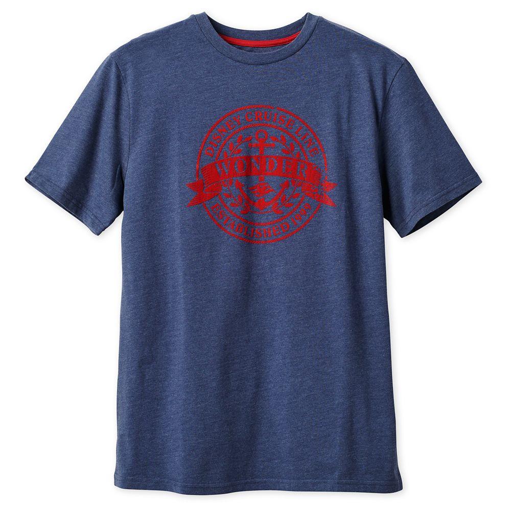 Disney Wonder T-Shirt for Men  Disney Cruise Line