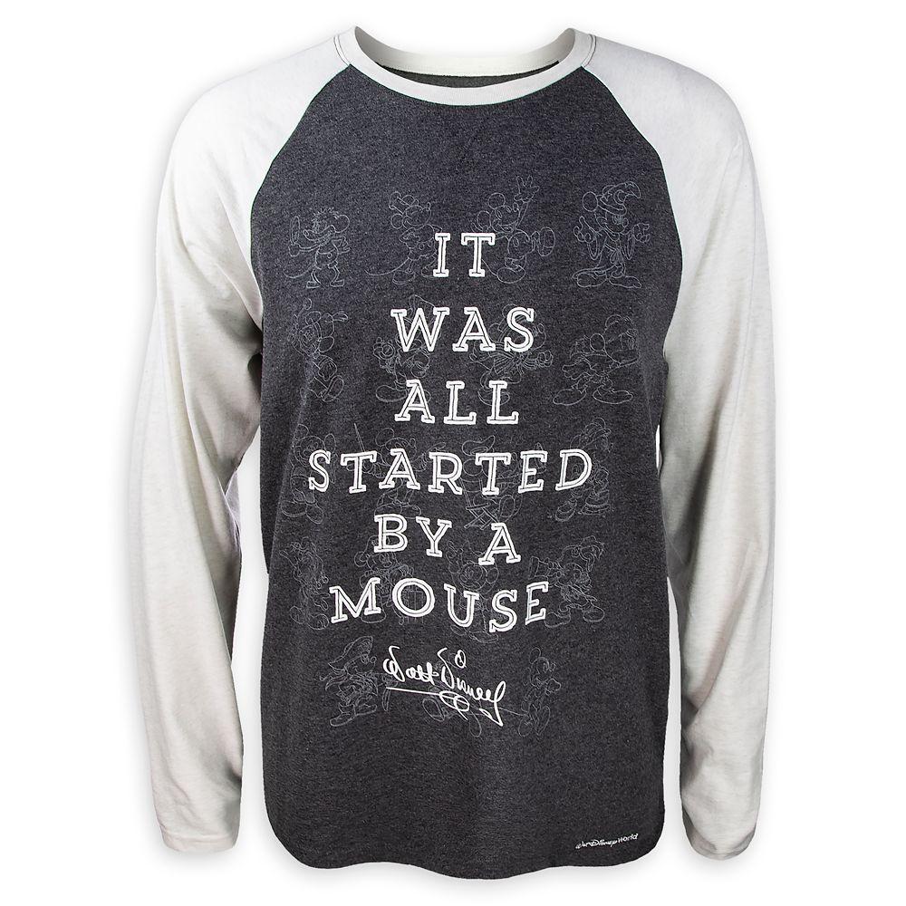 Mickey Mouse Through the Years Raglan T-Shirt for Men – Walt Disney World