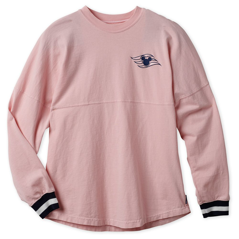 Disney Cruise Line Spirit Jersey for Adults  Pink