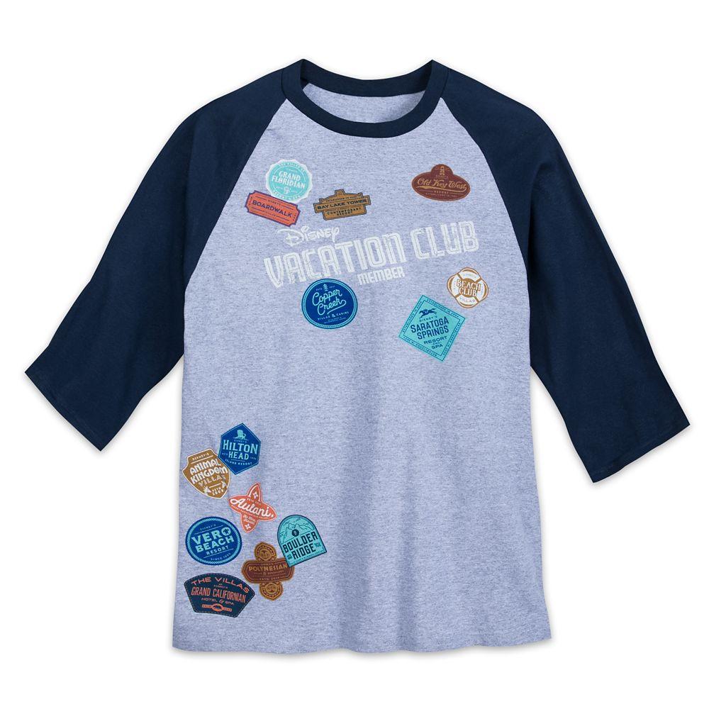 Disney Vacation Club Raglan Shirt for Adults