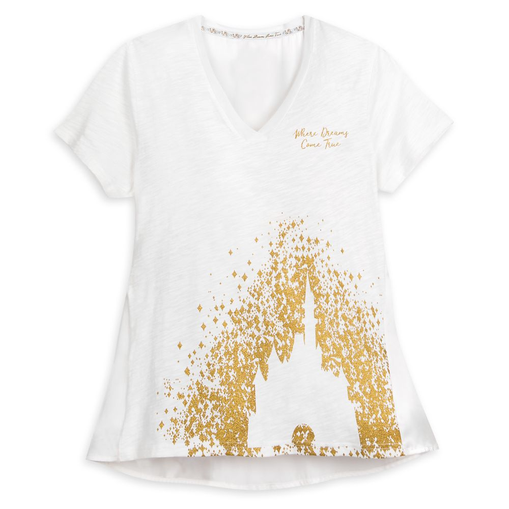 Cinderella Castle T-Shirt for Women – Walt Disney World