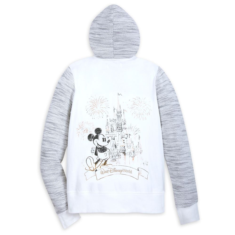Mickey Mouse Cinderella Castle Zip Hoodie for Women – Walt Disney World