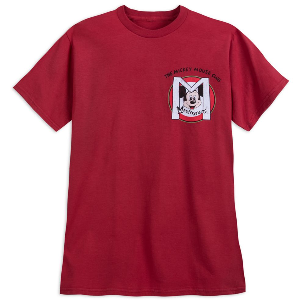 Mickey Mouse Club Mouseketeers Logo T-Shirt for Adults