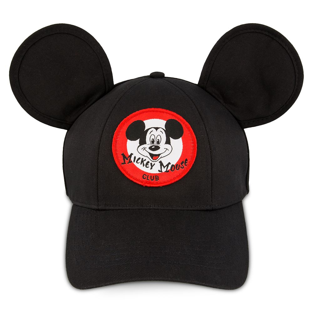 2db8471b1 Mouseketeer Ear Baseball Cap for Adults – The Mickey Mouse Club
