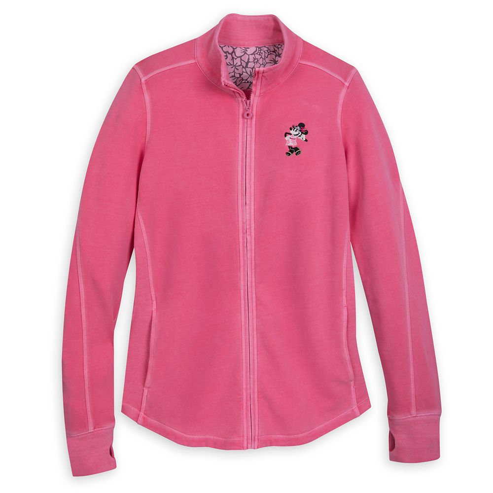 Minnie Mouse Track Jacket by Tommy Bahama  Pink Official shopDisney