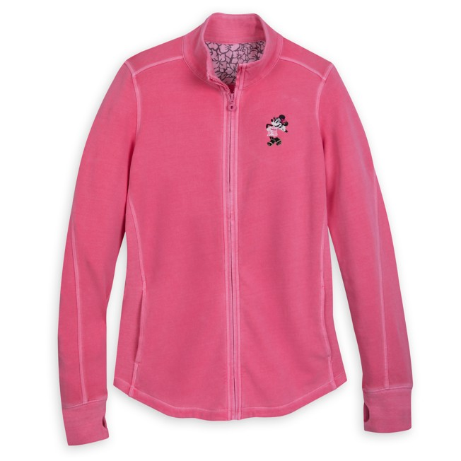 Minnie Mouse Track Jacket by Tommy Bahama – Pink