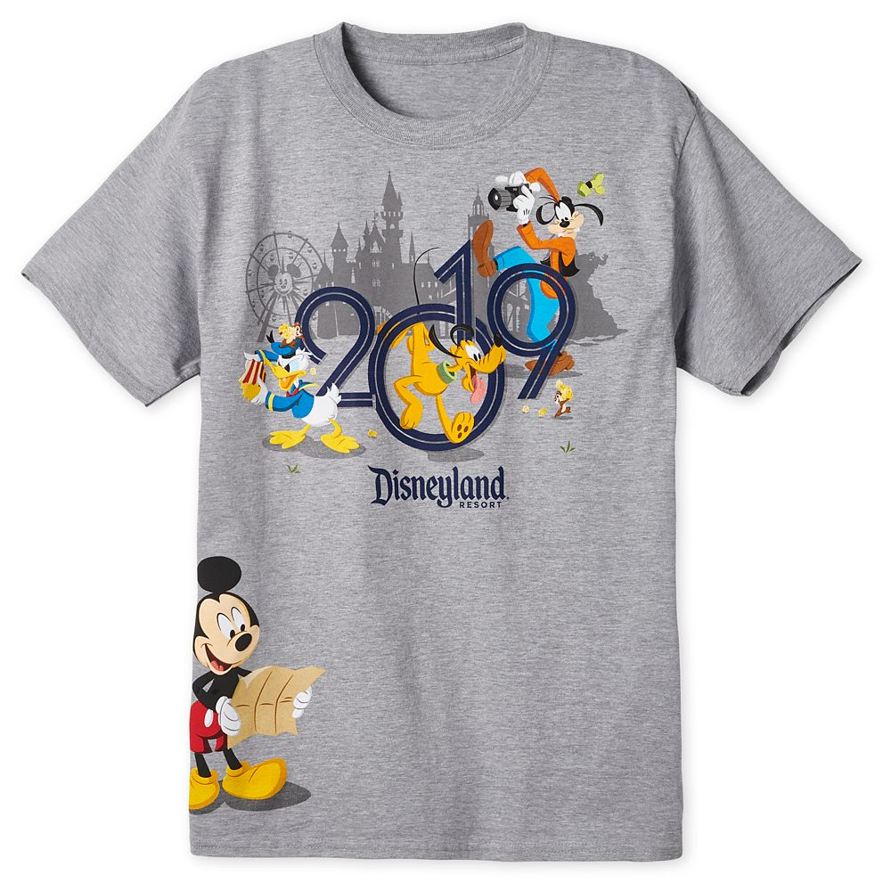 Mickey Mouse and Friends T-Shirt for Adults  Disneyland 2019